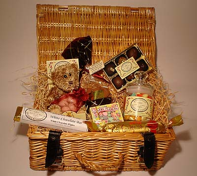 Traditional Willow Hamper (picture not shown)