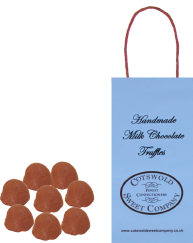 Milk Chocolate Truffles Boutique Bag