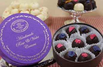 Handmade Rose and Violet Creams