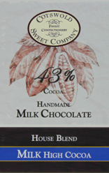 Handmade 43% Milk Chocolate Bar